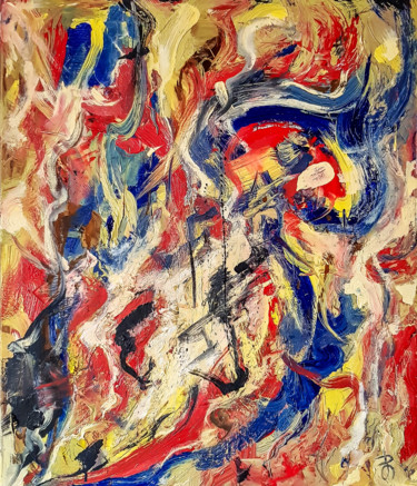 In the style of Willem de Kooning by Retne