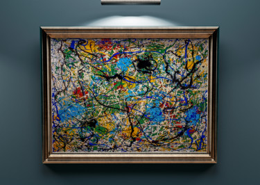 Jackson Pollock Abstract Expressionism paintinging