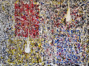 MAGIC LANTERNS - in the style of Jackson Pollock.