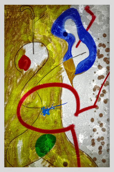 "Inspired by Joan Miro. ""Hirquiticke""."