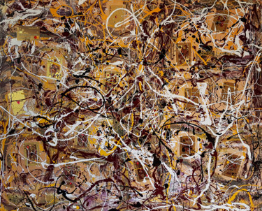 Abstract expressionism JACKSON POLLOCK style