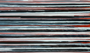 Large Abstract -Reading between lines-